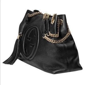 Gucci Bags - Gucci Soho Large Leather Chain Shoulder Handbag